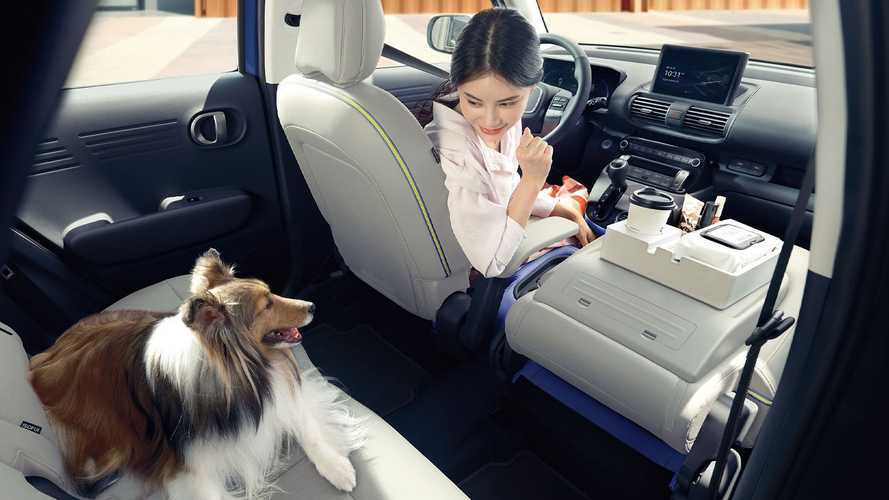 Интерьер Hyundai Casper