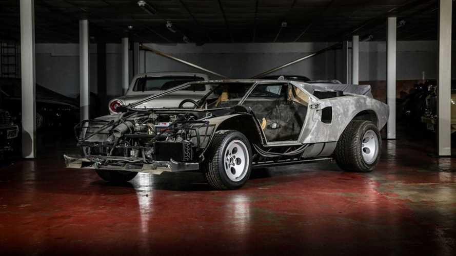 Оригинальный Lamborghini Countach продадут в разобранном виде