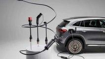 Flexibles Ladesystem mit Adaptern von Mercedes