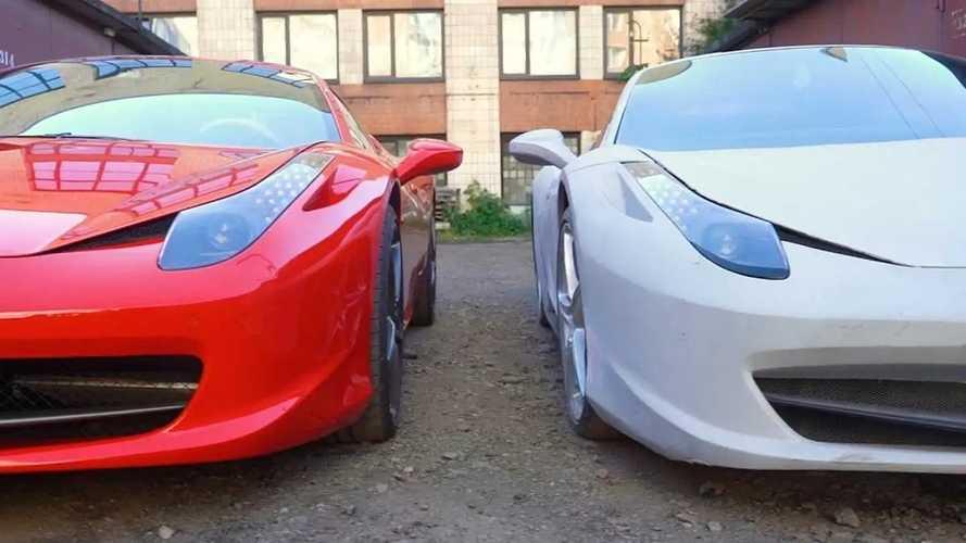 Vous voulez une Ferrari? Construisez-la vous-même!