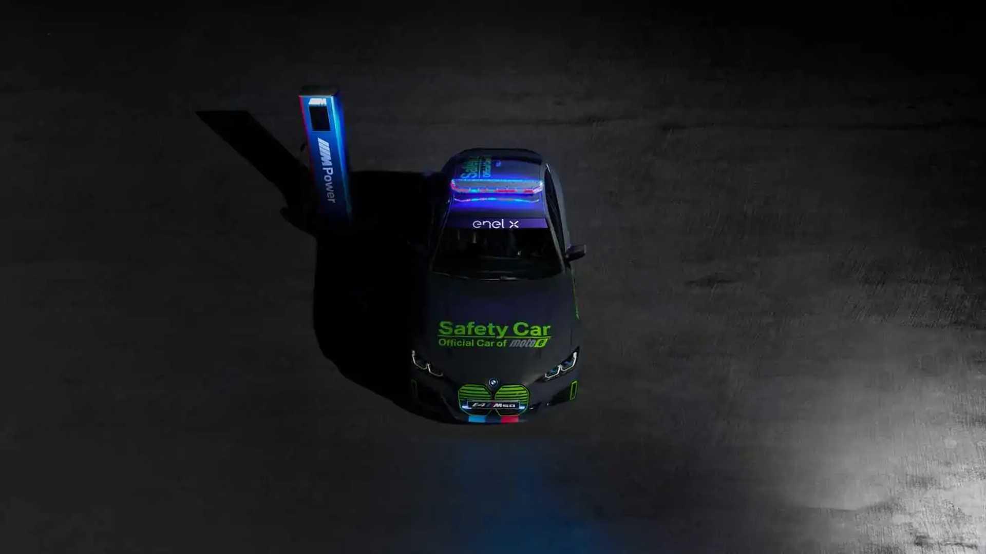 BMW i4 M50 MotoE safety car