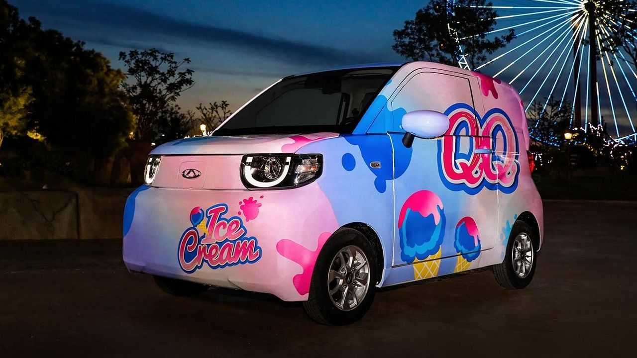 Chery QQ Ice Cream - primeiras fotos 3/4