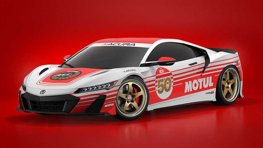 2022 Acura NSX Type S Looks The Business With Retro Motul Livery