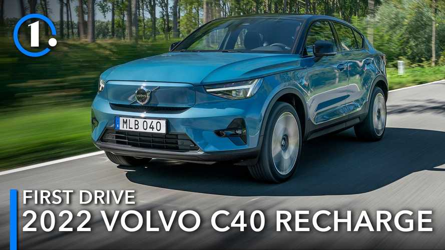 2022 Volvo C40 Recharge First Drive Review: Imperfect Beauty