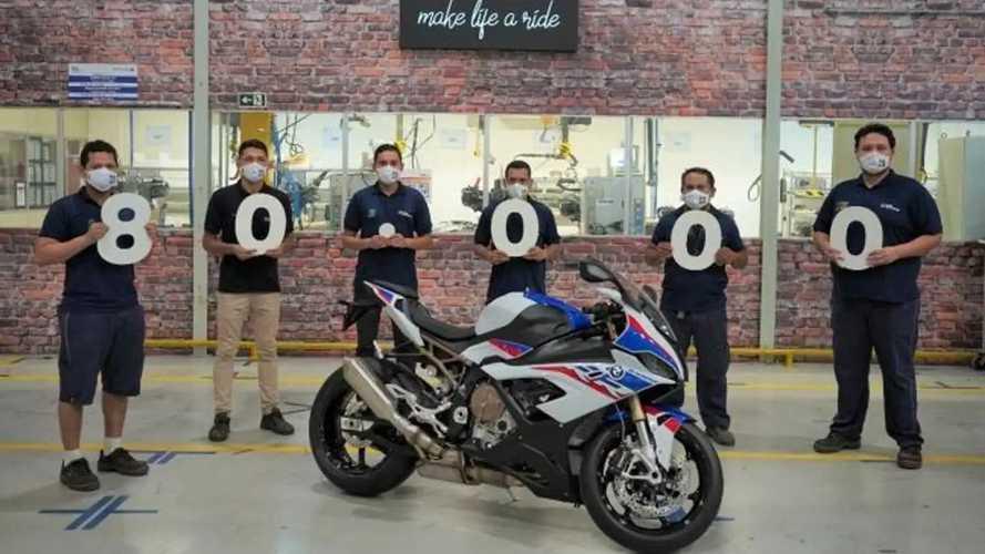 Hebat, Pabrik BMW Motorrad di Brasil Telah Produksi 80 Ribu Unit
