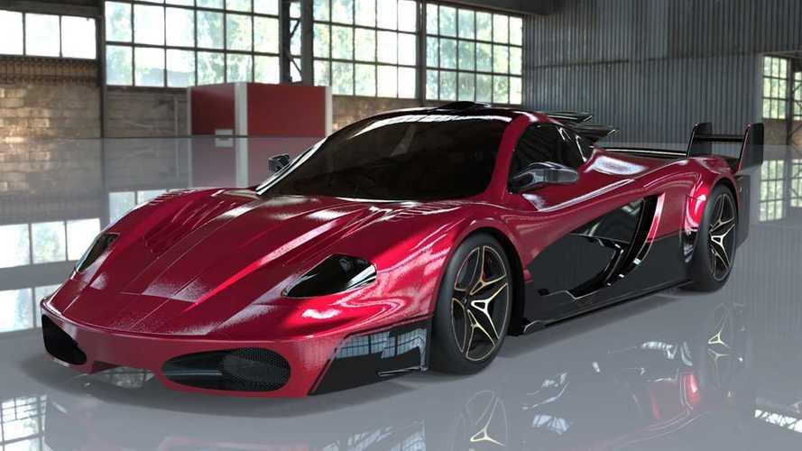 """مصمم فيراري السابق يبتكر سيارة """"فرانكشتاين"""" مجنونة للعبة جي تي أيه"""