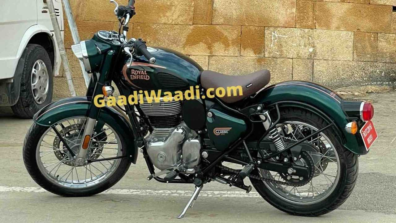 The 2021 Royal Enfield Classic 350 Looks Just About Ready For Launch