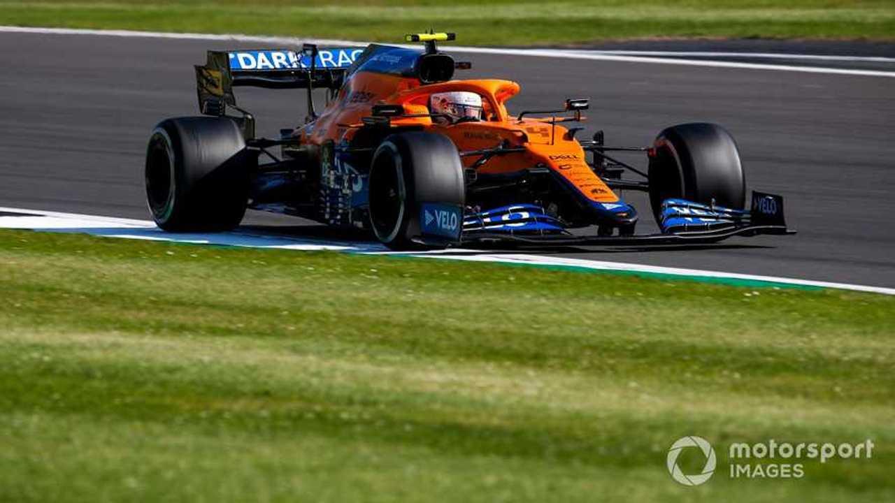 Lando Norris at British GP 2021