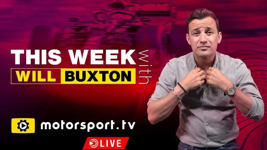 El presentador Will Buxton se une a Motorsport.tv