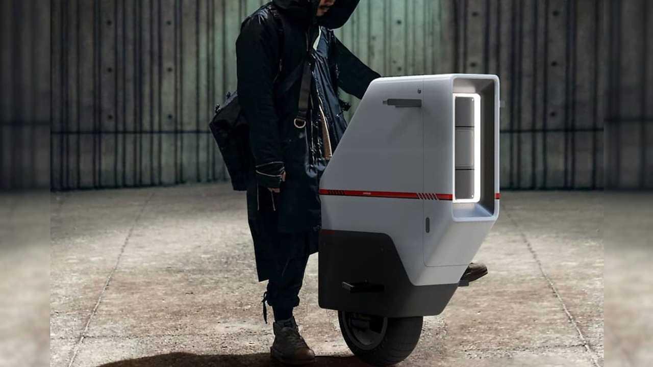 Artist Envisions Futuristic Honda Baiku Electric Scooter Concept