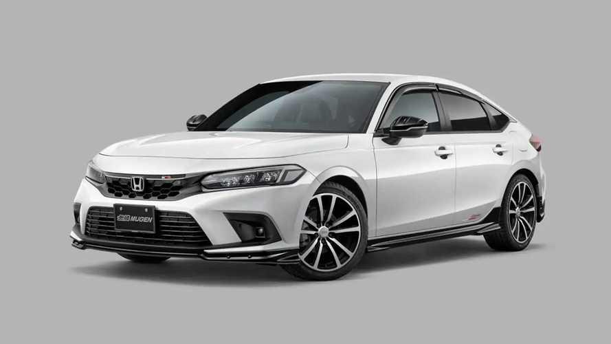 Novo Honda Civic 2022 ganha versão esportivada feita pela Mugen