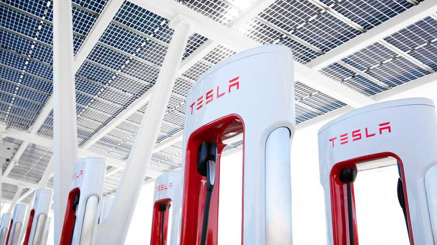 New Pasadena Charging Plaza: Tesla Superchargers & Other Stations