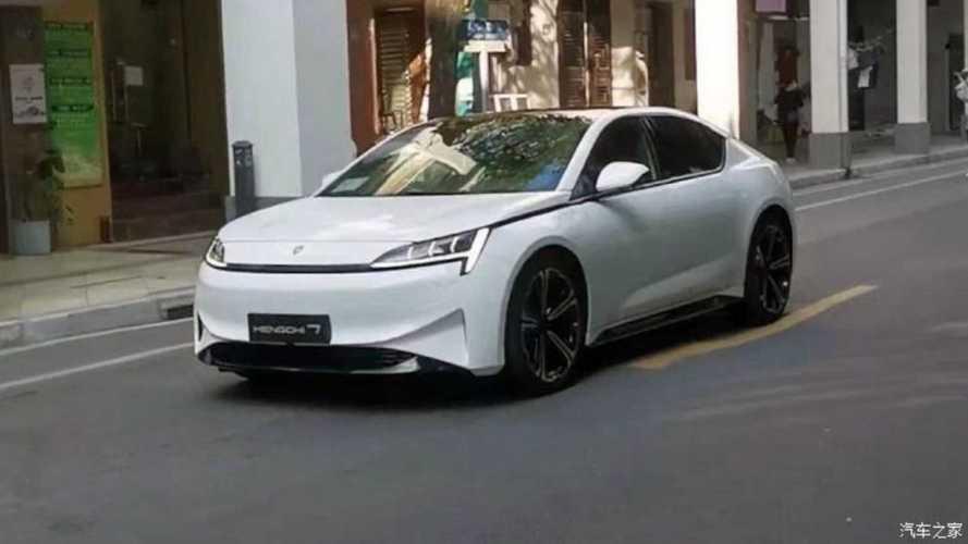 Evergrande's Electric Sedan Hengchi 7 Spotted With No Camo