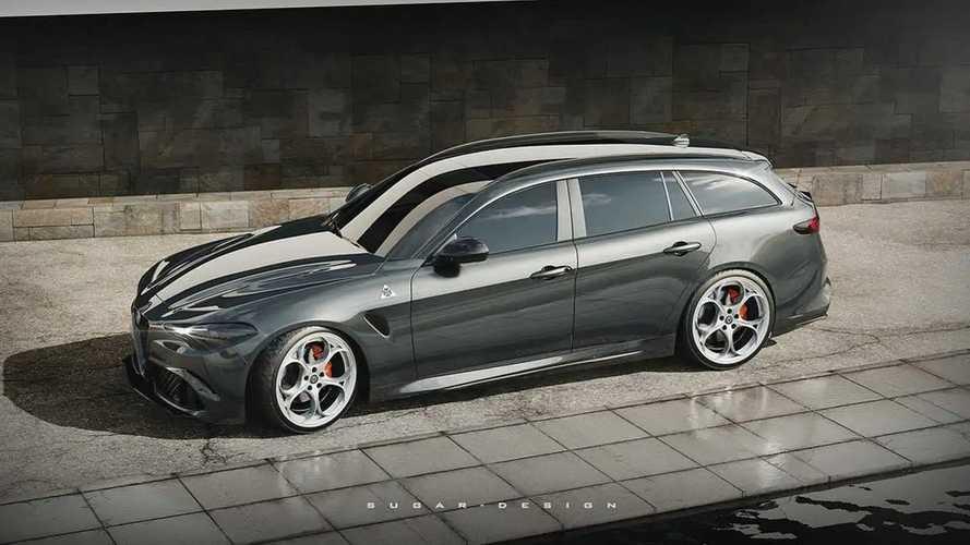 Imaginamos el Alfa Romeo Giulia familiar... ¡y queremos uno!