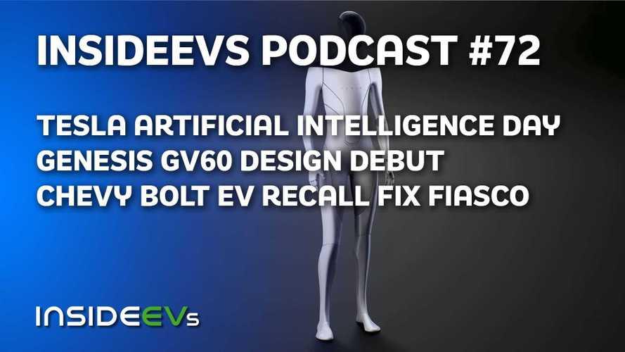 Tesla AI Day, Genesis GV60 Debut, And Chevy Bolt EV Recall Fiasco