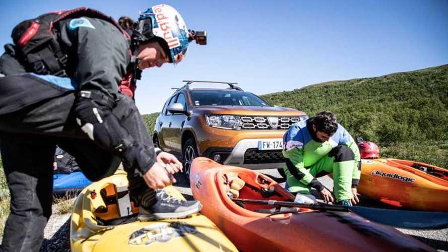 Dalla Francia alla Lapponia in Dacia Duster con i kayak. Foto