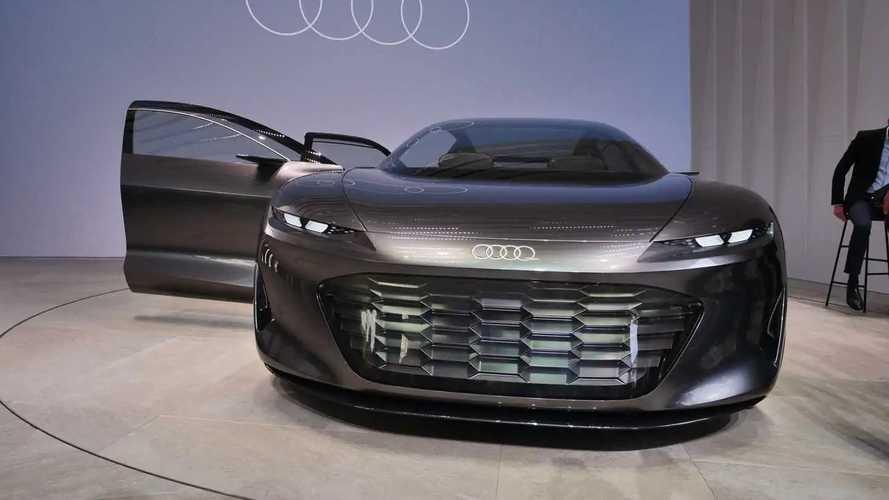 Audi Grandsphere Concept Photos, IAA 2021