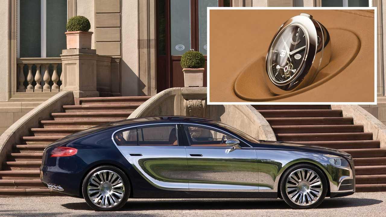 Bugatti y Parmigiani Fleurier