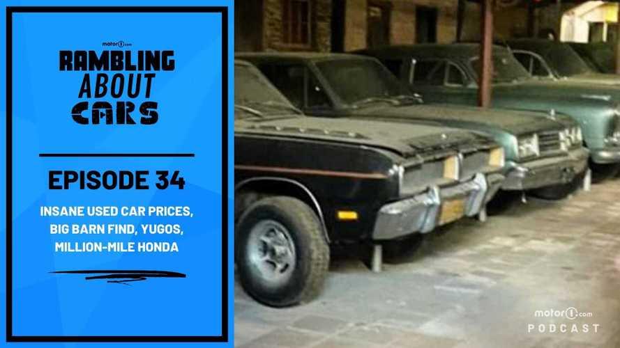 Insane Used Car Prices, Big Barn Find, Yugos, Million-Mile Honda: RAC #34