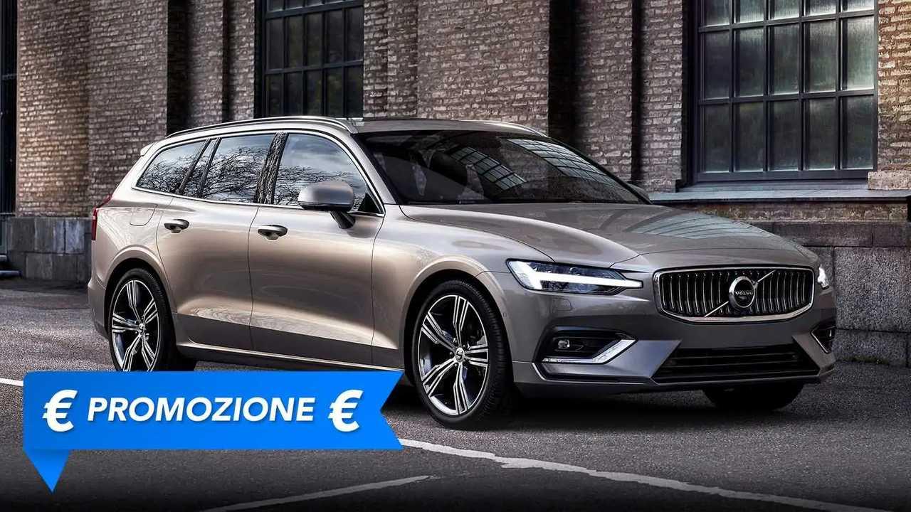 Volvo V60 a noleggio, la promozione di agosto 2021