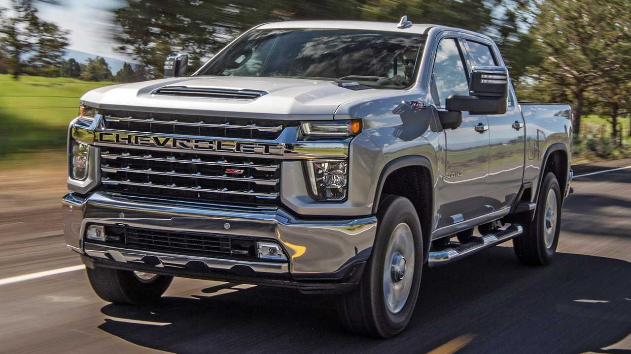 GM issues a stop-sale order on its heavy-duty pickups.