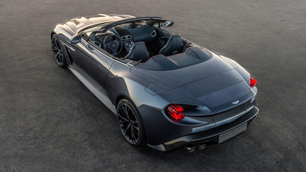 Aston Martin Vanquish Zagato Volante Photo
