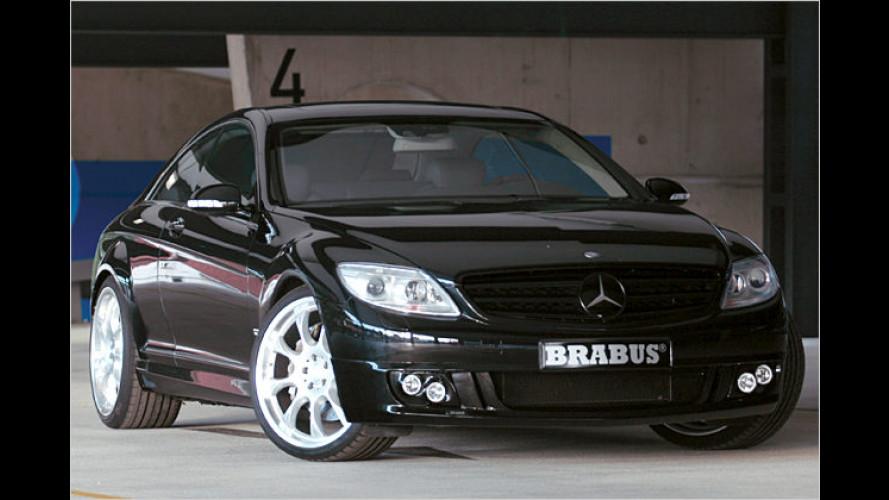 Mehr Power: Brabus krönt das neue Mercedes CL Coupé