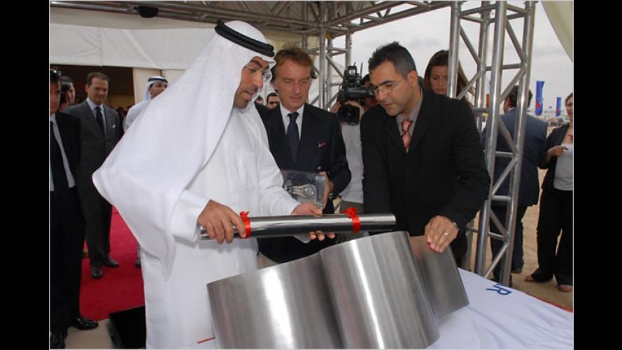Grundsteinlegung des weltweit ersten Ferrari-Themen-Parks