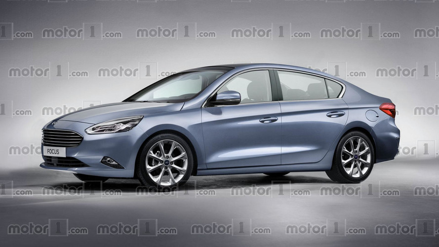 First Look: Next Year's New Ford Focus Rendered