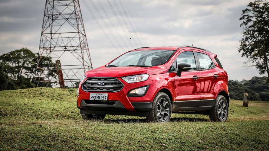 Ford EcoSport 4x4 chega à Argentina. No Brasil, só no fim do ano