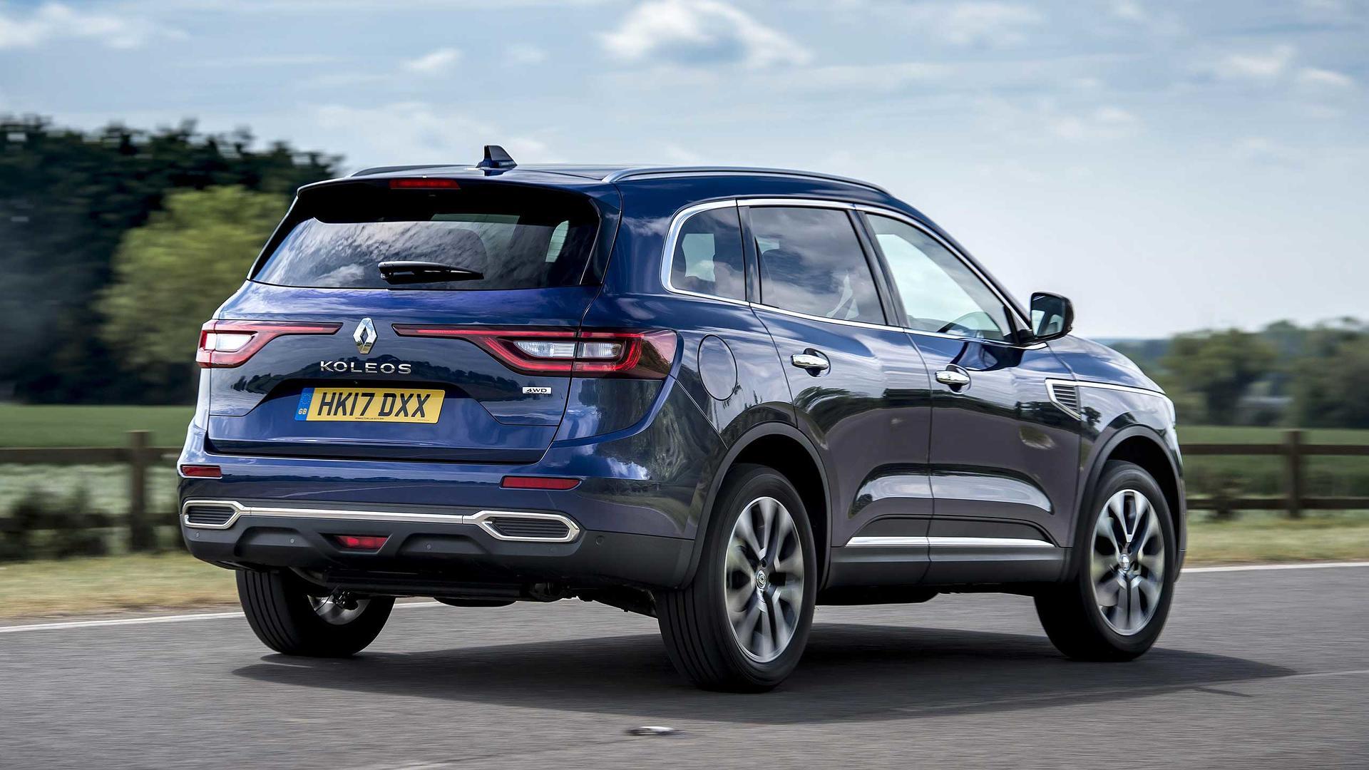 Adiado Para 2018 Renault Koleos Ganha 5 Estrelas Em Teste De Colisao