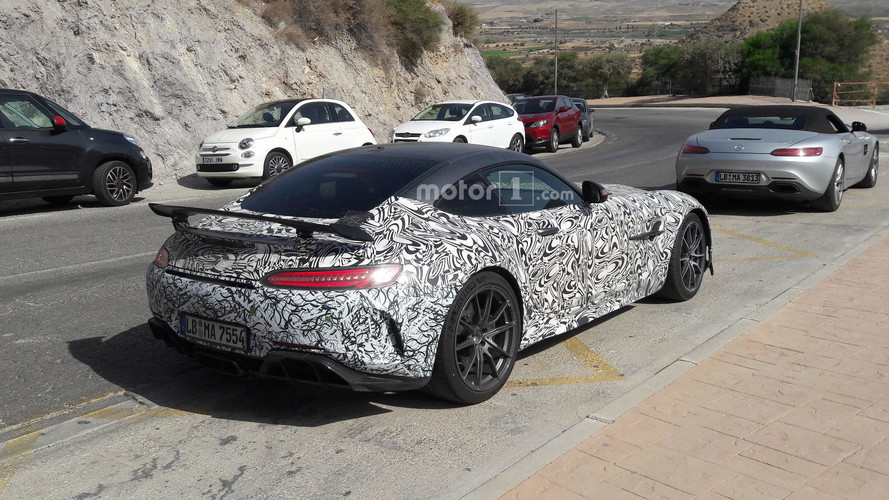 Mercedes-AMG GT R Black Series Caught By Motor1.com Reader In Spain