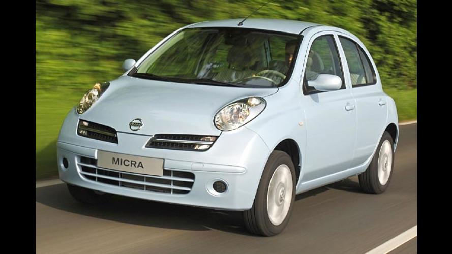Nissan Micra: Facelift für den kleinen Flitzer