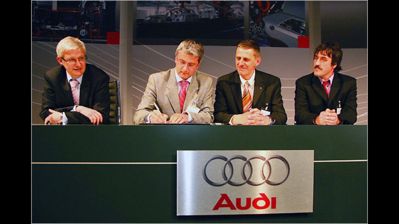 Audi produziert in Belgien