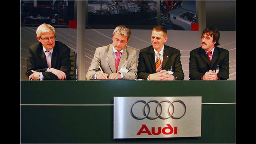 Audi übernimmt das Volkswagen-Werk in Brüssel