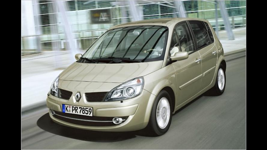Renault: Mehr Ausstattung für Scénic-Sondermodelle