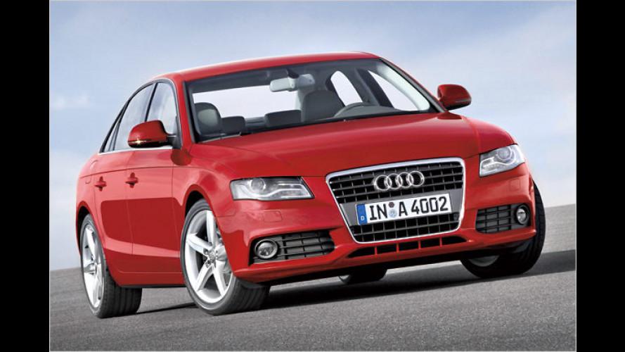 Der neue Audi A4: Sport-Limousine für die Mittelklasse