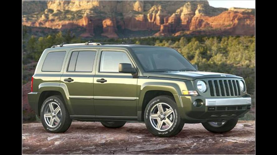 Endlich da: Jeep Patriot, vorgestellt in New York