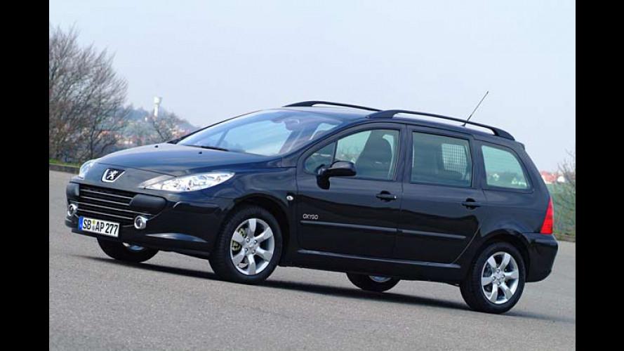 Sonder-Peugeot 307 Oxygo und Épok: Sportlich oder elegant