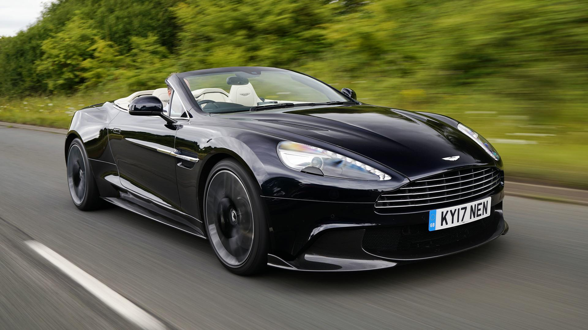 Aston Martin Vanquish S Volante First Drive The Final Encore - Aston martin pics