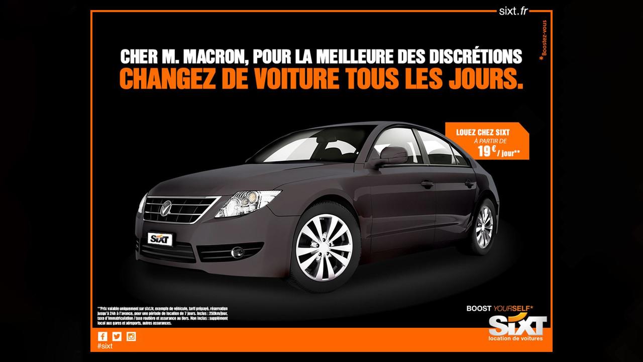 Macron Sixt