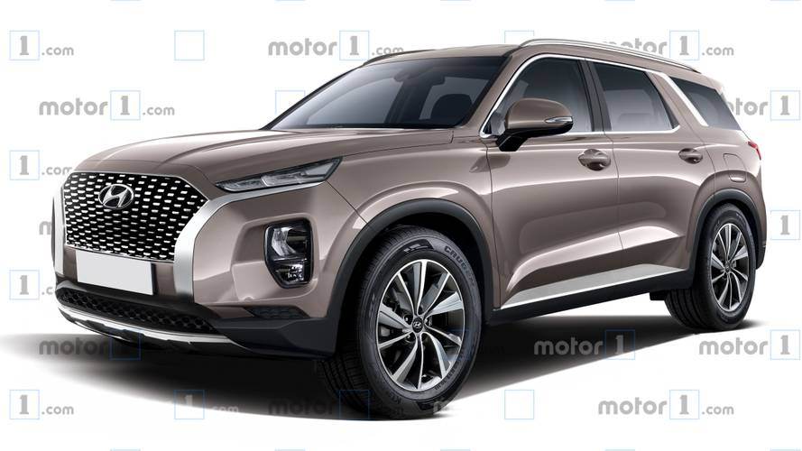 Hyundai Palisade Rendered: When The Santa Fe Is Not Big Enough