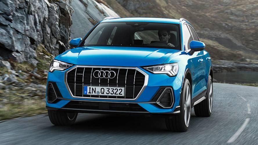 Szigorúbb arcot vág a Győrben készülő új Audi Q3