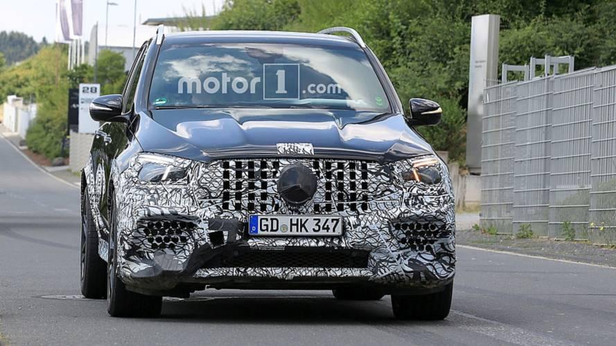 Yeni Mercedes-AMG GLE 63'ün gövdesi ortaya çıkmaya başladı [GÜNCEL]