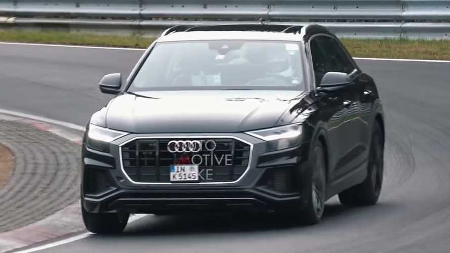 Audi SQ8 Looks Like A Sports Car On Stilts During Nurburgring Test