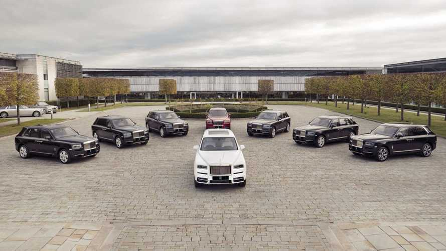 First UK-spec Rolls-Royce Cullinan SUVs now on display