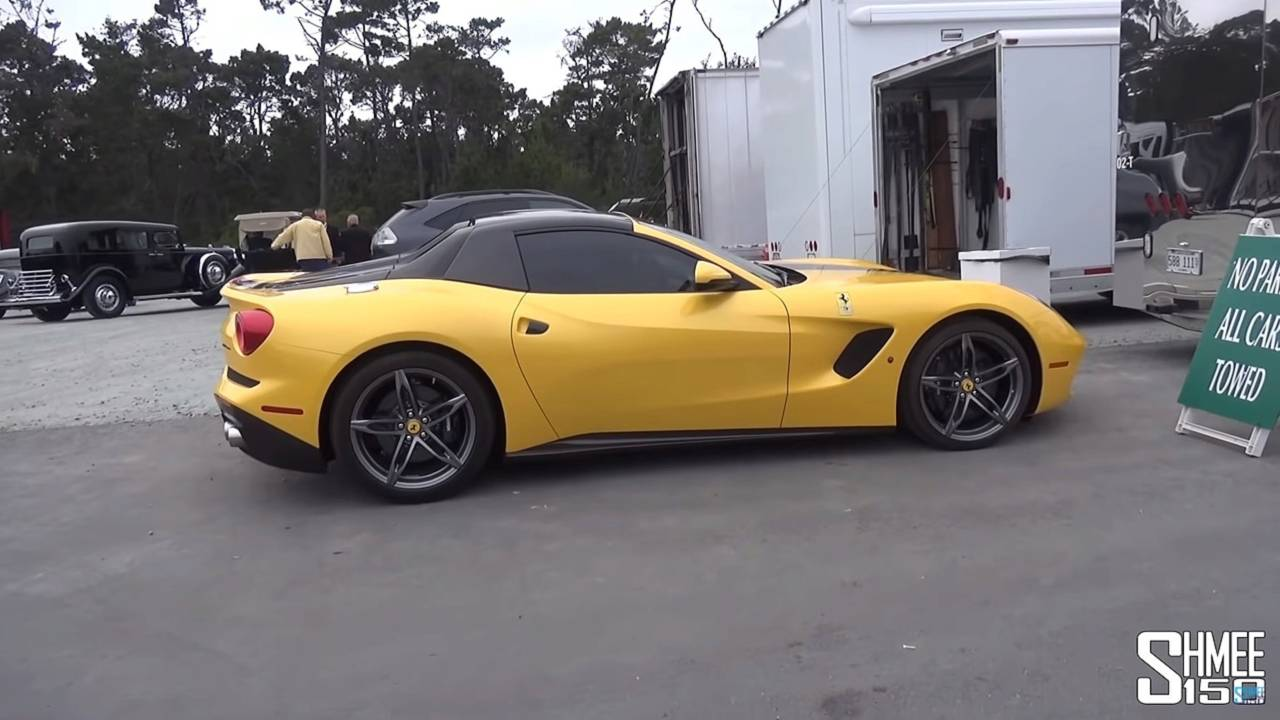 Ferrari F60 America screenshot from video