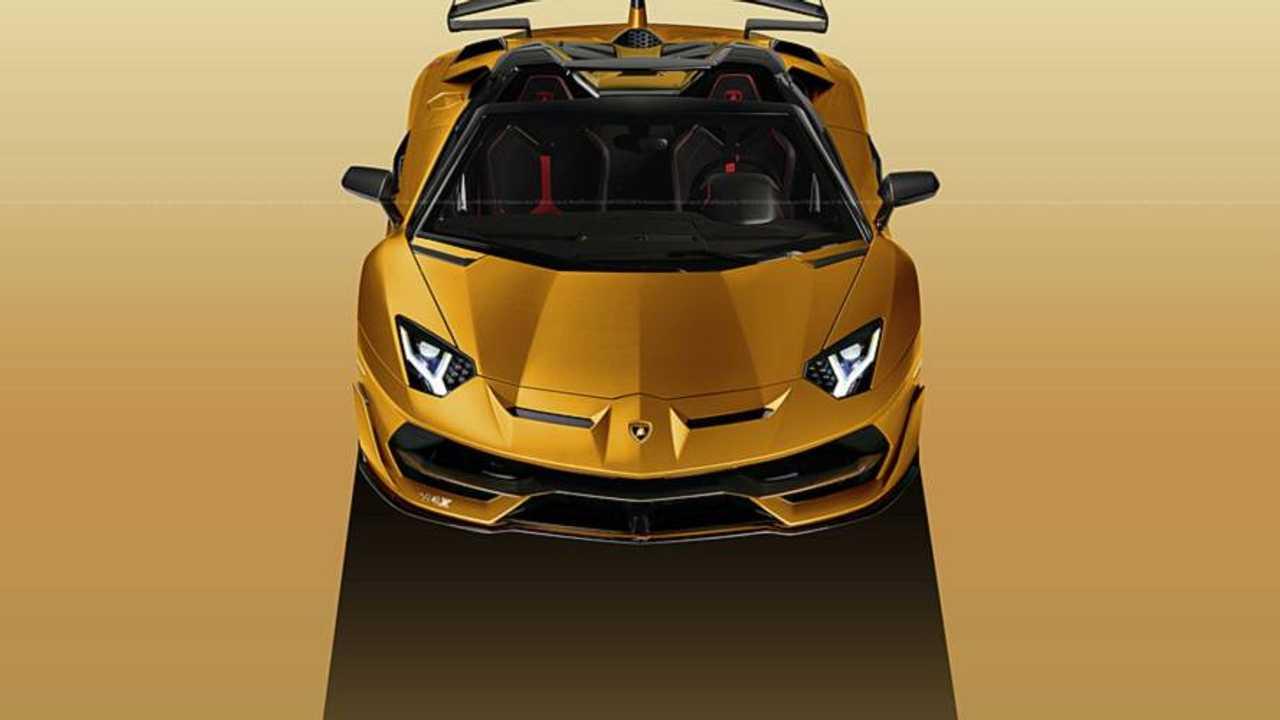 Lamborghini Aventador SVJ Roadster Render