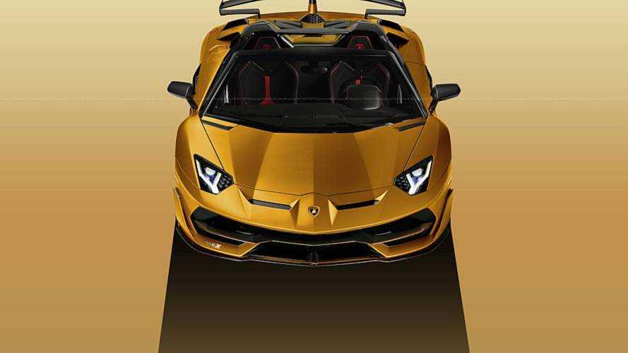 Lamborghini Aventador SVJ'nin Roadster versiyonu da gelecek
