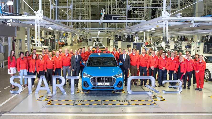 Elstartolt Győrben az Audi Q3 gyártása